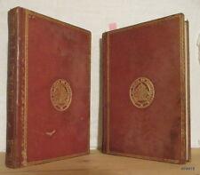 GONNET Flore élémentaire de la France 1847 2 VOLS 13 PLANCHES ABE