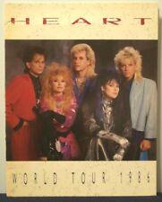 HEART - WORLD TOUR - TOUR PROGRAM - 1986