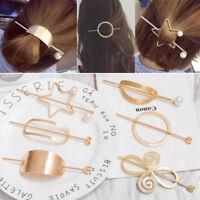 Women Hairpin Stick Shawl Pin Hair Slide Clip Bun Holder Hair Accessories