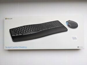 Microsoft Sculpt Comfort Desktop Keyboard/Mouse Combo Spanish/English Compatible