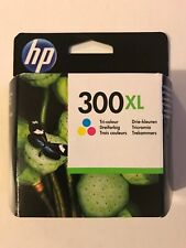 Genuine Original HP 300XL CC644EE Tri-Colour Printer Ink Cartridge 2020 Date