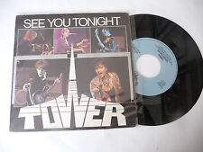 "TOVERS"" SEE YOU TONIGHT-disco 45 giri VIP Italy 1982"" PERFETTO"