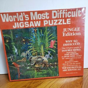 Buffalo Games World's Most difficult Puzzle 529 Pieces NEW SEALED