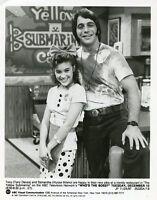 ALYSSA MILANO CUTE TONY DANZA SMILING PORTRAIT WHO'S THE BOSS 1987 ABC TV PHOTO