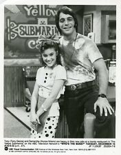 ALYSSA MILANO CUTE TONY DANZA SMILING PORTRAIT WHO'S THE BOSS 1987 ABC TV PHOTO
