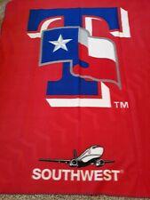 Texas Rangers Southwest Airlines blanket 50x60 SGA