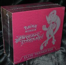 Mega Mewtwo Y EX Elite Trainer Box XY BREAKthrough Set Pokemon Trading Cards