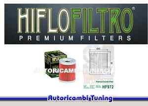 Filtre à Huile HIFLO HF972 Moto Suzuki An Burgman - 400 Cc - Années : 1999 -