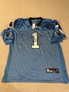 Carolina Panthers Cam Newton Jersey Mens Size 54 NFL Discontinued Reebok New Tag