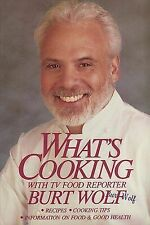 What's Cooking Wolf, Burt Hardcover Used - Very Good