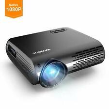"WiMiUS Projector 1080P 5500 lumen Video Projector HD 1080P Native 1920x1080 300"""
