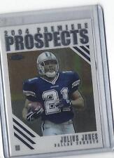 2004 Topps Chrome Premiere Prospects Julius Jones #PP8 Cowboys!! Look!!!
