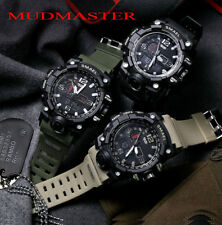 2018 SMAEL Waterproof Sports Military Shock Men's Analog Quartz Digital Watches
