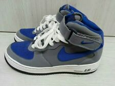 NIKE Air Force 1 One High Mid Grau Blau Gr:38,5 US:6Y 314195-019 Vandal Jordan