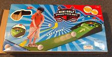 Kids Light And Sounds Mini Golf Practice Set Indoor/outdoor