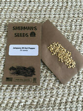 Jalapeno M Hot Pepper seeds, heirloom, open-pollinated
