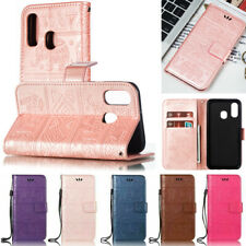For Samsung A10 A20 A30 A50s A51 S10 S9 Elephant Wallet Leather Flip Cover Case