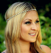 BOHO GOLD  PEARL CHAIN.  HEADBAND HEAD CHAIN JEWELLERY