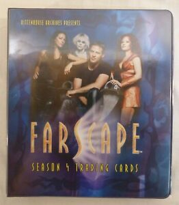 Farscape Season 4 trading cards Base Set Binder Chasers Quotable ArtiFEX +more