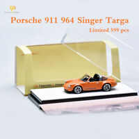 1:64 Scale Timothy&Pierre Porsche 911 (964) Singer Targa Resin Car Model Limited