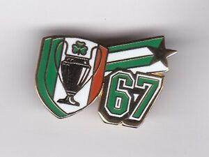 "Celtic "" 67 "" - lapel  badge brooch fitting"