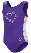 Gk Stars Leotard For Girls   Dance & Gymnastics (Cxs, Sweet Heart)