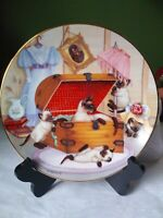 Country Kitties By Gre' Gerardi Attic Attack Excellent Condition