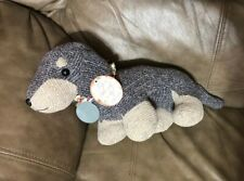 Altar'd State Faith Weenie Dog Dachshund Plush Stuffed Toy Sock Sweater Knit