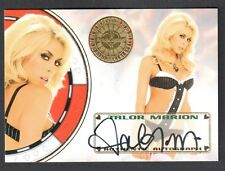 "BENCH WARMER ""VEGAS BABY"" 2012 Autograph Card Signed by TALOR MARION"