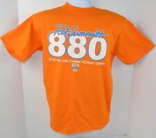 Tennessee Lady Vols PAT SUMMITT 880 All-Time Victory Leader Orange T-Shirt S New