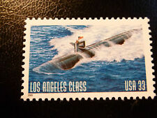 United States Scott 3372, the 33 cents Los Angeles Submarine stamp Mint