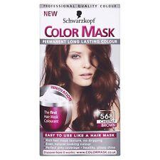 Schwarzkopf color mask colore permanente 568 CHESTNUT Marrone