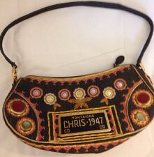 Christian Dior Limited Edition License Plate Montaigne Chris 1947 Car purse