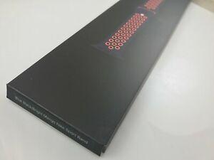 NEW Original Apple watch Nike Sport Band 38mm 40mm 41MM Blue Black/Bright Mango