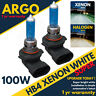 Hb4 Xenon Super White 100w Halogen 9006 Hid Headlight Fog Light Lamp Bulbs 12v
