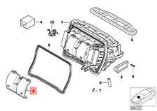 Genuine BMW E46 E83 E83N Compact SUV Heater Fan Blower Cover OEM 64118372793