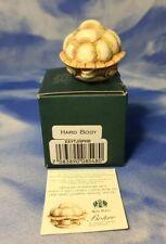 """Htf Hard Body Harmony Kingdom Roly Polys """"Botero"""" Turtle Figurine Tjrptu Nib"""