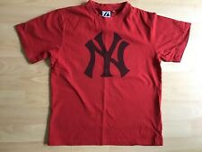 Boy's/girl's New York T shirt, Size LB, approx age 10, Majestic Athletic