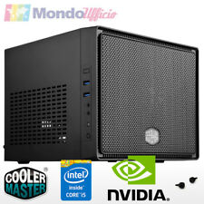 PC Computer Micro Mini Itx Intel i5 7400 3,00 Ghz - Ram 16 GB - HD 2 TB - WI-FI