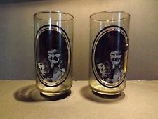 Laural and Hardy Drinking Glasses