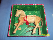 Mason & Sullivan  Carousel Horse  in Wood Box  Authentic Models Holland