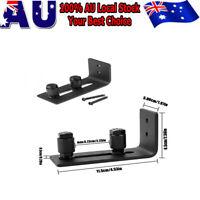 Adjustable Wall Flat Stay Roller Guide Bottom Floor Sliding Barn Door Hardware