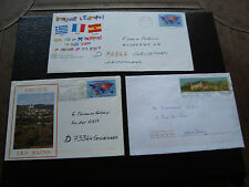 FRANCE - 3 enveloppes 1999/2000 (cy49) french