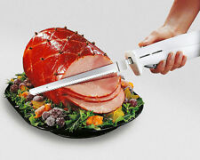 Sharp Electric Carving Knife Stainless Steel Blade Bread Slicer Meat Turkey Best