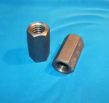"1""-5 acme coupling nuts 2-pack steel 1 3/8"" hex x 2.75 long right hand"