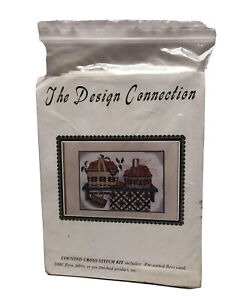 The Design Connection Baskets & Quilts Counted Cross Stitch Kit K7-554