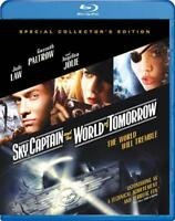 SKY CAPTAIN AND THE WORLD OF TOMORROW NEW BLU-RAY DISC