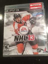 NHL 13 (Sony PlayStation 3, 2012)  Brand New Factory Sealed Rip On Side