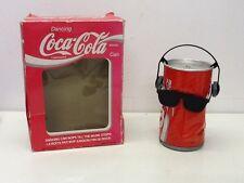 Retro Vintage Coca Cola Coke Dancing puede, en Caja Juguete Antiguo fresco