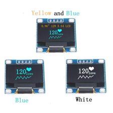 """0.96"""" I2C IIC Serial 128 X 64 Blue OLED LCD LED Display scree Module for Arduino"""